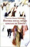 libro Historia Social De Las Lenguas De España