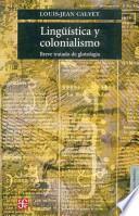 libro Lingüística Y Colonialismo