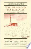 libro No Pude Detener Los Elefantes