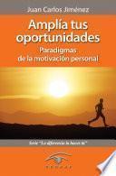 libro Amplía Tus Oportunidades