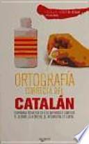 libro Ortografía Correcta Del Catalán