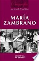 libro Biografía De María Zambrano
