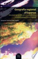 libro Geografia Regional D'espanya