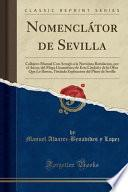 libro Nomenclátor De Sevilla