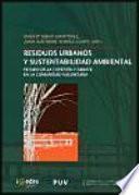 libro Residuos Urbanos Y Sustentabilidad Ambiental