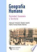 libro Geografía Humana