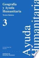 libro Geografía Y Ayuda Humanitaria