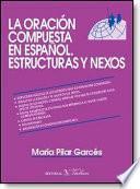 libro La Oración Compuesta En Español