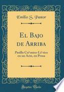 libro El Bajo De Arriba