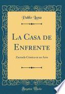 libro La Casa De Enfrente