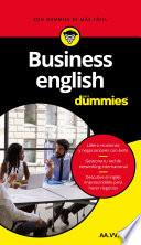 libro Business English Para Dummies (pack)