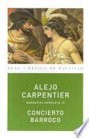 libro Concierto Barroco