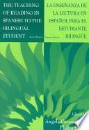 libro Enseñanza De La Lectura En Español Para El Estudiante Bilingüe