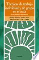 libro Técnicas De Trabajo Individual Y De Grupo En El Aula