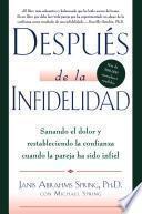 libro Despues De La Infidelidad