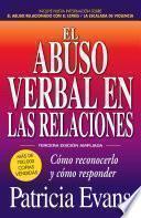 libro El Abuso Verbal En Las Relaciones (the Verbally Abusive Relationship)