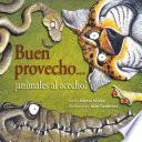 libro Buen Provecho...¡animales Al Acecho!