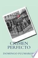 libro Crimen Perfecto
