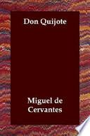 libro Don Quijote
