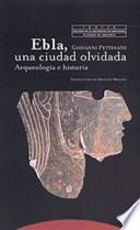 libro Ebla, Una Ciudad Olvidada