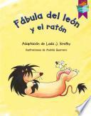 libro Fabula Del Leon Y El Raton