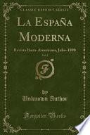 libro La España Moderna, Vol. 2