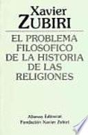 libro El Problema Filosófico De La Historia De Las Religiones