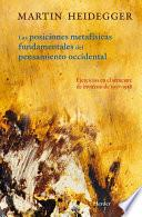 libro Posiciones Metafísicas Fundamentales Del Pensamiento Occidental