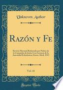 libro Razón Y Fe, Vol. 41