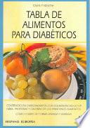 libro Tabla De Alimentos Para Diabéticos