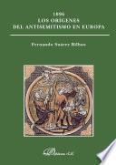 libro 1096 Los Orígenes Del Antisemitismo En Europa