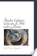 libro Asuntos Cubanos, Colecci=n De Artf。ulos Y Poesf,s