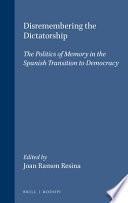 libro Disremembering The Dictatorship