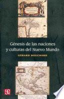 libro Génesis De Las Naciones Y Culturas Del Nuevo Mundo