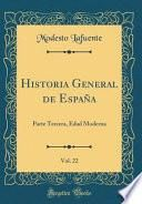 libro Historia General De España, Vol. 22