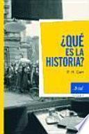 libro ¿qué Es La Historia?