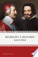 libro Richelieu Y Olivares