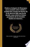 libro Spa Replica Al Alegato De Nica