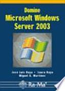libro Domine Microsoft Windows Server 2003