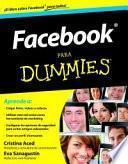 libro Facebook Para Dummies