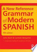 libro A New Reference Grammar Of Modern Spanish
