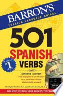 libro Five Hundred And One Spanish Verbs