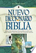libro Nuevo Diccionario De La Biblia: New Bible Dictionary