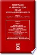libro Régimen De Las Participaciones Sociales En La Sociedad De Responsabilidad Limitada