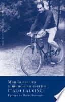 libro Mundo Escrito Y Mundo No Escrito