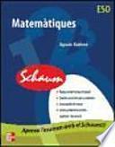 libro Cutr Matemàtiques. Eso. Schaum
