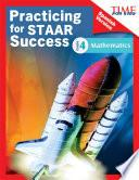 libro Time For Kids® Practicing For Staar Success: Mathematics: Grade 4 (spanish Version)