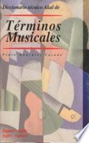 libro Diccionario Técnico Akal De Términos Musicales