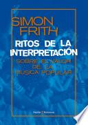 libro Ritos De La Interpretación