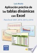 libro Aplicación Práctica De Las Tablas Dinámicas Con Excel